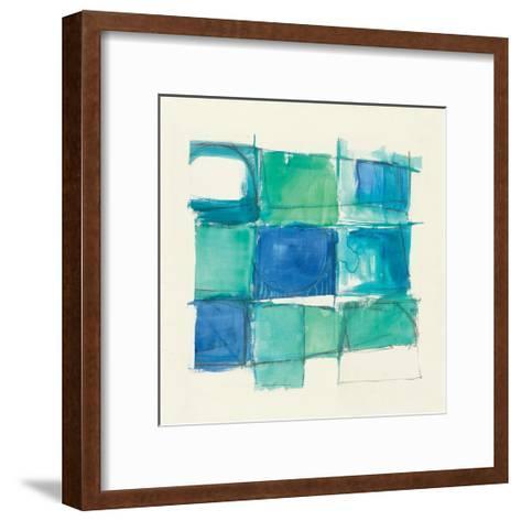 131 West 3rd Street Square II-Mike Schick-Framed Art Print