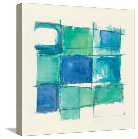 131 West 3rd Street Square II-Mike Schick-Stretched Canvas Print