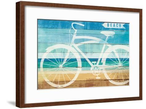 Beachscape Cruiser II-Michael Mullan-Framed Art Print