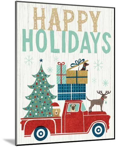 Holiday on Wheels III v2-Michael Mullan-Mounted Art Print