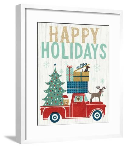 Holiday on Wheels III v2-Michael Mullan-Framed Art Print
