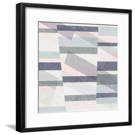 Pastel Reflections III-Moira Hershey-Framed Art Print