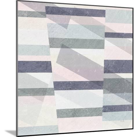 Pastel Reflections III-Moira Hershey-Mounted Art Print