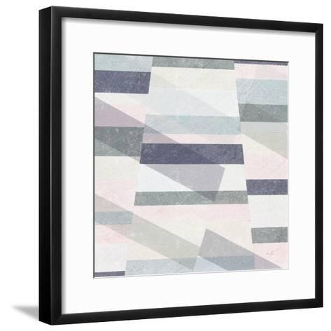 Pastel Reflections II-Moira Hershey-Framed Art Print