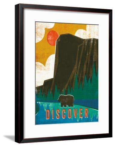 Big Sky IV-Michael Mullan-Framed Art Print