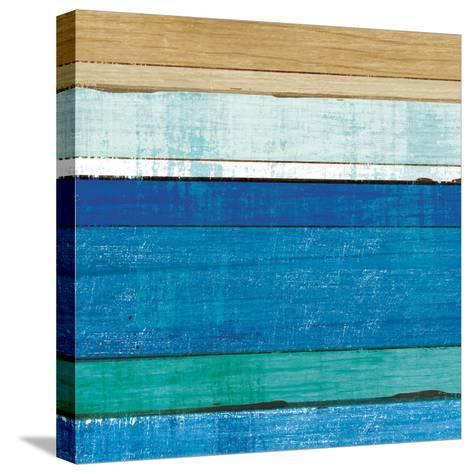 Beachscape V-Michael Mullan-Stretched Canvas Print