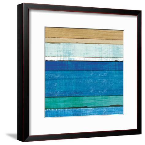 Beachscape V-Michael Mullan-Framed Art Print