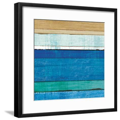 Beachscape V-Michael Mullan-Framed Art Print