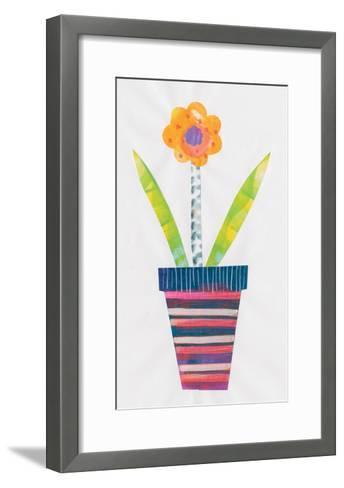 Collage Flower II-Melissa Averinos-Framed Art Print