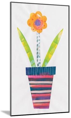Collage Flower II-Melissa Averinos-Mounted Art Print