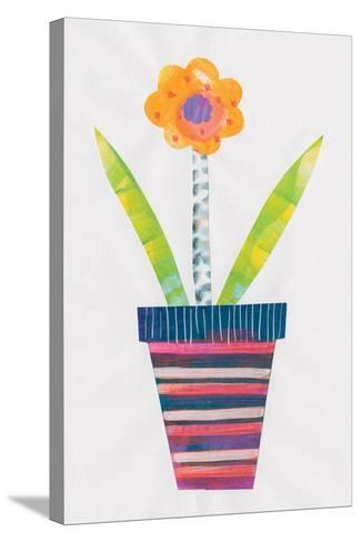 Collage Flower II-Melissa Averinos-Stretched Canvas Print