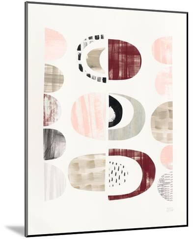 Mod Neutrals II Blush-Melissa Averinos-Mounted Art Print