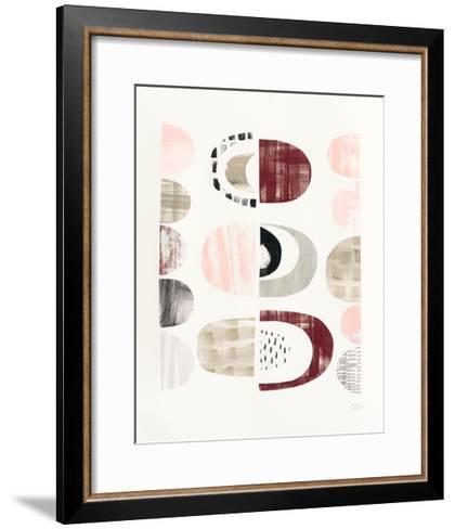 Mod Neutrals II Blush-Melissa Averinos-Framed Art Print