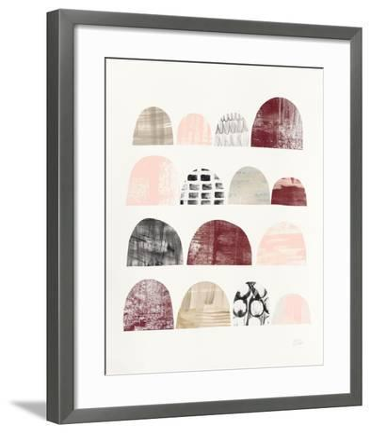 Mod Neutrals IV Blush-Melissa Averinos-Framed Art Print