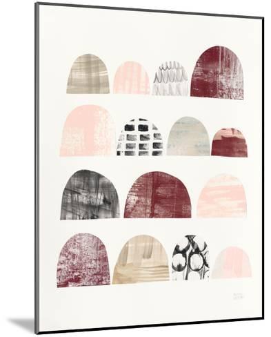 Mod Neutrals IV Blush-Melissa Averinos-Mounted Art Print