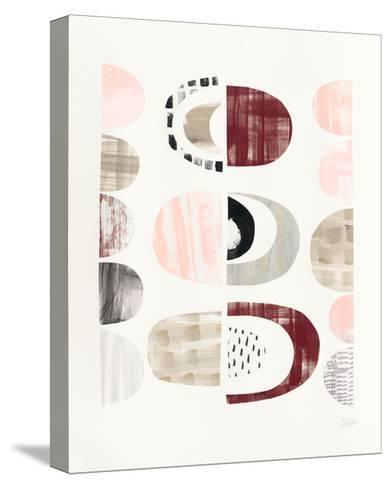 Mod Neutrals II Blush-Melissa Averinos-Stretched Canvas Print