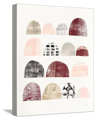 Mod Neutrals IV Blush-Melissa Averinos-Stretched Canvas Print