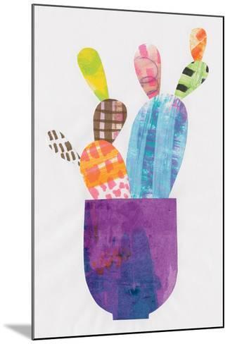 Collage Cactus III-Melissa Averinos-Mounted Art Print