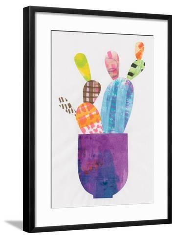 Collage Cactus III-Melissa Averinos-Framed Art Print