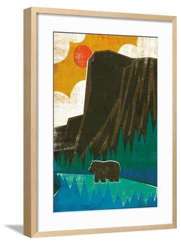 Big Sky IV No Words-Michael Mullan-Framed Art Print