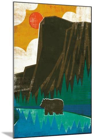 Big Sky IV No Words-Michael Mullan-Mounted Art Print