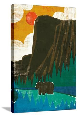 Big Sky IV No Words-Michael Mullan-Stretched Canvas Print