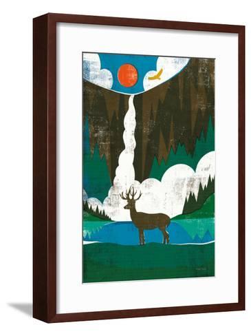 Big Sky II No Words-Michael Mullan-Framed Art Print