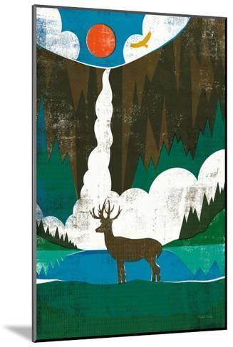 Big Sky II No Words-Michael Mullan-Mounted Art Print