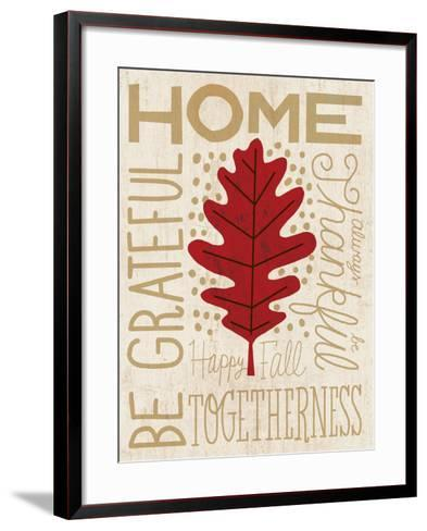 Family Tree Leaf II-Michael Mullan-Framed Art Print