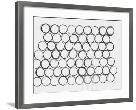 Circle Element 1-Melissa Averinos-Framed Art Print