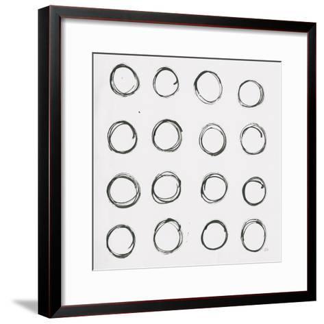Circle Element 3-Melissa Averinos-Framed Art Print