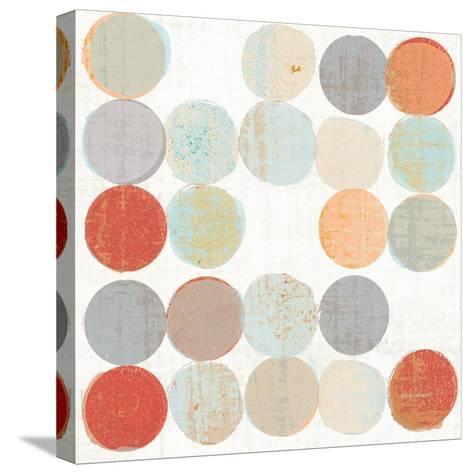 Dots II Square II-Michael Mullan-Stretched Canvas Print