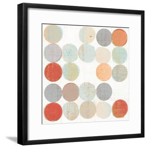 Dots II Square II-Michael Mullan-Framed Art Print