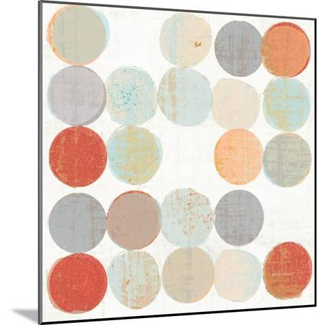 Dots II Square II-Michael Mullan-Mounted Art Print