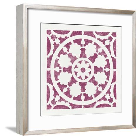 Hacienda Tile VI-Moira Hershey-Framed Art Print