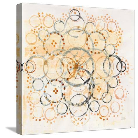 Henna Mandala II-Melissa Averinos-Stretched Canvas Print