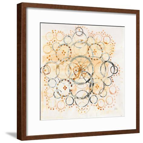 Henna Mandala II-Melissa Averinos-Framed Art Print