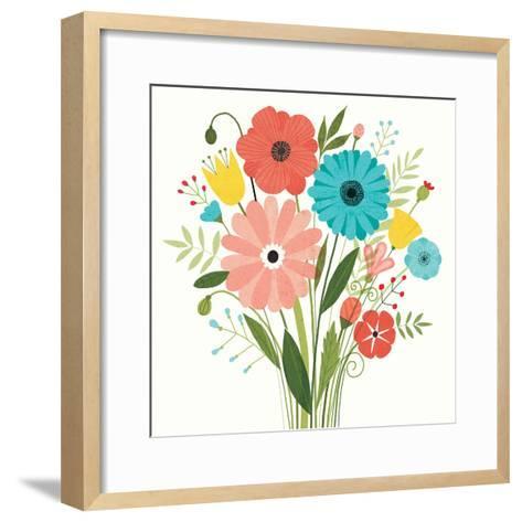 Seaside Bouquet II-Michael Mullan-Framed Art Print