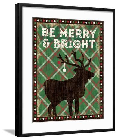Simple Living Holiday Be Merry-Michael Mullan-Framed Art Print