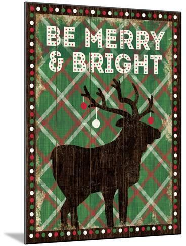 Simple Living Holiday Be Merry-Michael Mullan-Mounted Art Print