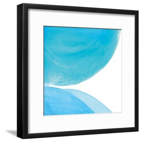 Pools of Turquoise II-Piper Rhue-Framed Art Print