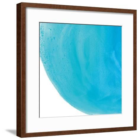 Pools of Turquoise IV-Piper Rhue-Framed Art Print