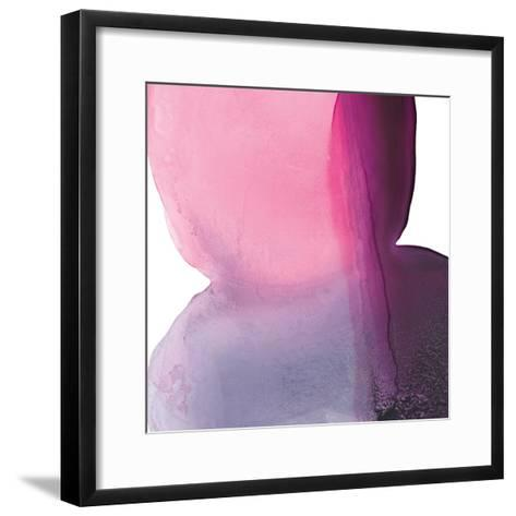 Swish of Magenta II-Piper Rhue-Framed Art Print