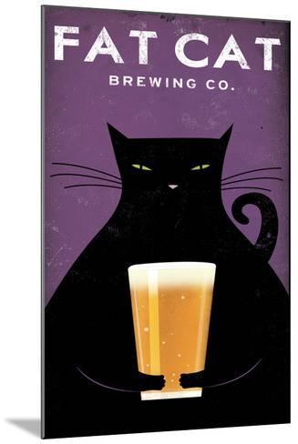 Cat Brewing no Words-Ryan Fowler-Mounted Art Print