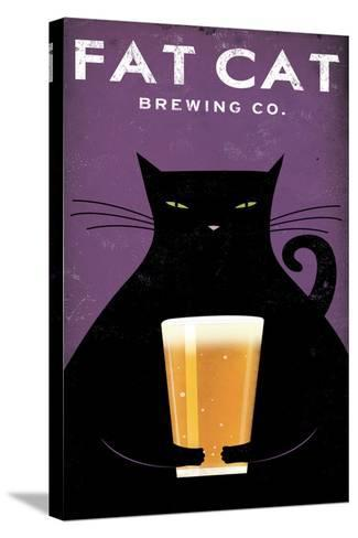 Cat Brewing no Words-Ryan Fowler-Stretched Canvas Print