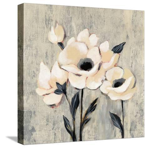 Graphic Floral II-Silvia Vassileva-Stretched Canvas Print