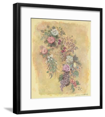 Fruit and Flowers-Naomi McBride-Framed Art Print