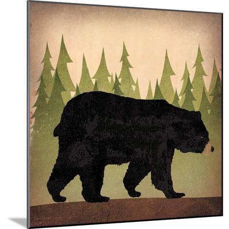 Take a Hike Bear no Words-Ryan Fowler-Mounted Art Print