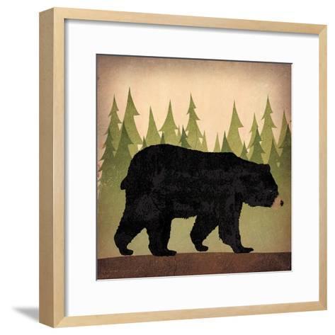 Take a Hike Bear no Words-Ryan Fowler-Framed Art Print
