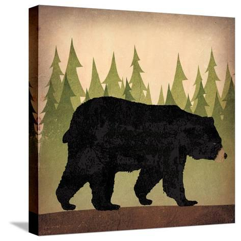 Take a Hike Bear no Words-Ryan Fowler-Stretched Canvas Print